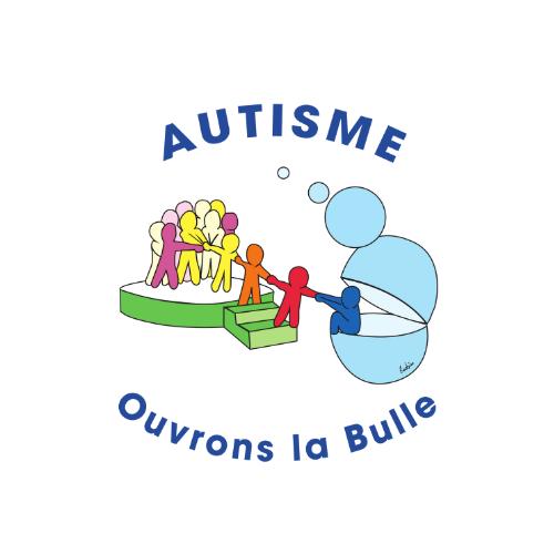 logo autisme ouvrons la bulle